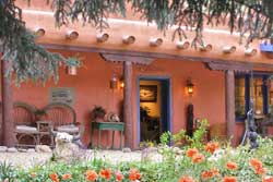 pet friendly hotel in taos, new mexico: adobe and Pines Inn Bed and Breakfast
