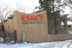 Pet friendly restaurant in Taos, New Mexico: Eske's Brew Pub and Eatery
