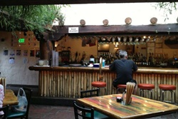 Pet friendly restaurant in Taos, New Mexico: Alley Cantina